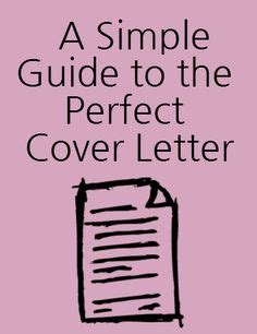 How to write a cover letter to the